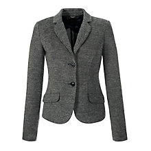 Buy Weekend by MaxMara Jersey Jacket, Black Online at johnlewis.com