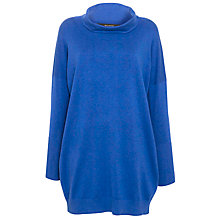 Buy Weekend by MaxMara Roll Neck Jumper Dress, Cornflower Online at johnlewis.com