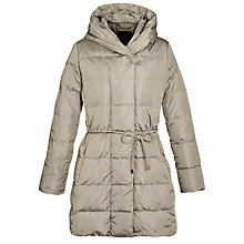 Buy Weekend by MaxMara Padded Long Coat, Turtle Dove Online at johnlewis.com