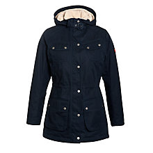 Buy Barbour Winter Broadstone Waterproof Jacket, Navy Online at johnlewis.com