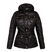 Buy Barbour Nation Jacket, Black Online at johnlewis.com