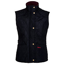 Buy Barbour Winter Liddesdale Gilet, Navy Online at johnlewis.com