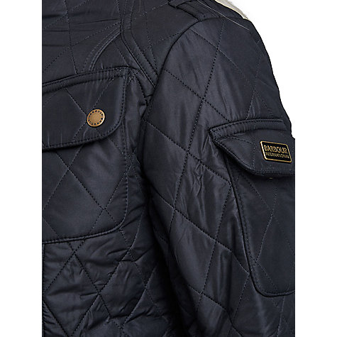 Buy Barbour International Tourer Polarquilt Online at johnlewis.com