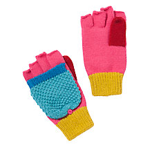 Buy John Lewis Girl Colourblock Flip Gloves, Multi Online at johnlewis.com