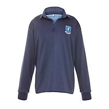 Buy The Gregg School Unisex Rugby Shirt, Blue Online at johnlewis.com