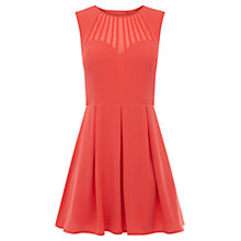 Buy Oasis Sunshine Skater Dress, Coral Online at johnlewis.com