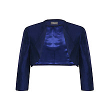 Buy Alexon Shimmer Bolero, Blue Online at johnlewis.com