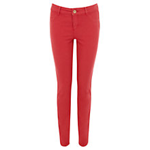 Buy Oasis Jade Jeans, Powder Pink Online at johnlewis.com