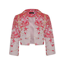 Buy Alexon Jacquard Bolero, Neutral Online at johnlewis.com
