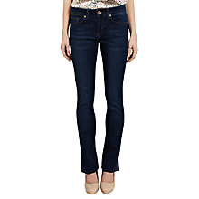 Buy Oasis Eva Vintage Wash Jeans, Denim Online at johnlewis.com