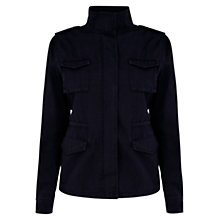 Buy Oasis Utility Jacket, Navy Online at johnlewis.com