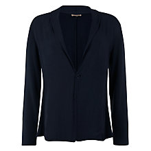 Buy Jigsaw Slouchy Front Jacket, Navy Online at johnlewis.com