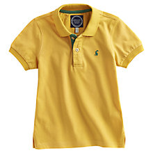 Buy Little Joule Tom Polo Shirt, Yellow Online at johnlewis.com