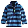 Little Joule Woozle Striped Fleece, Blue