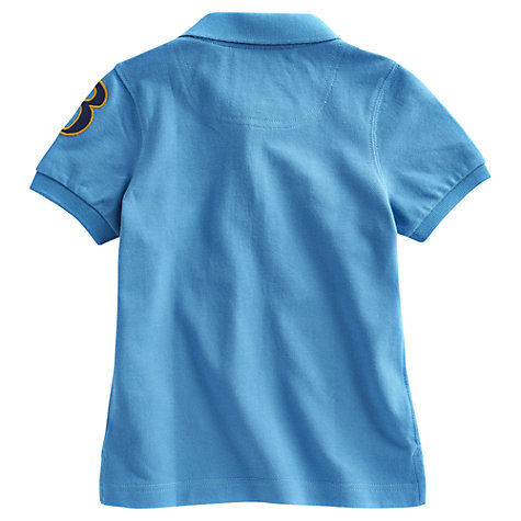 Buy Little Joule Harry Polo Shirt, Blue Online at johnlewis.com