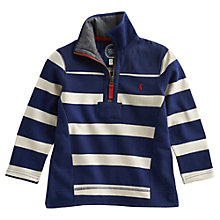 Buy Little Joule Templeton Striped Sweater, Navy/Cream Online at johnlewis.com