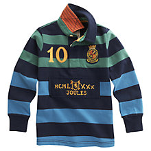 Buy Little Joule Mischief Rugby Shirt, Multi Online at johnlewis.com