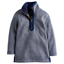 Buy Little Joule Tremont Funnel Neck Jumper, Blue Online at johnlewis.com