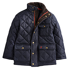 Buy Little Joule Rutledge Quilted Jacket, Navy Online at johnlewis.com