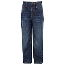 Buy John Lewis Boy Loose Fit Jeans, Blue Online at johnlewis.com