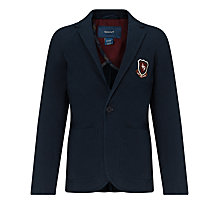 Buy Gant Casual Badge Blazer, Navy Online at johnlewis.com