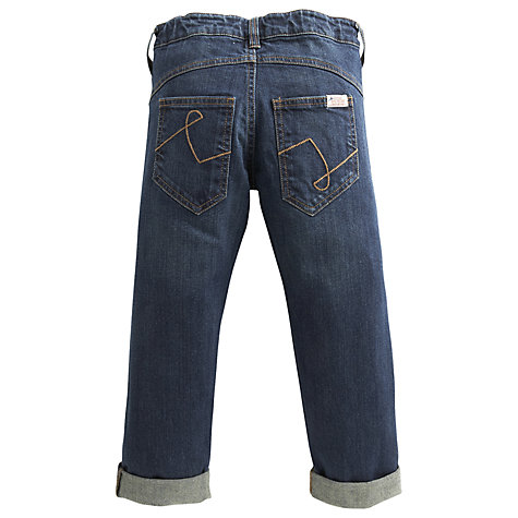 Buy Little Joule Boys' Ted Denim Jeans, Navy Online at johnlewis.com