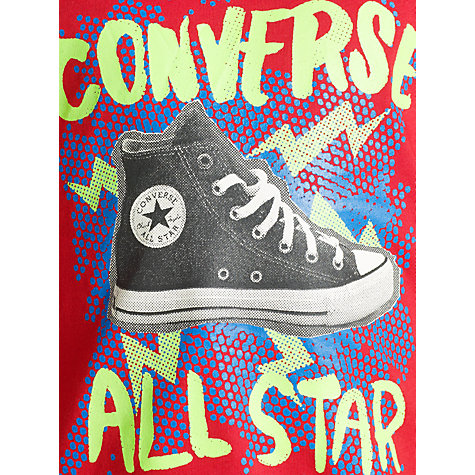 Buy Converse Boys' Shoe All Star Print T-Shirt Online at johnlewis.com