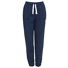 Buy Converse Boys' Chuck Patch Cuffed Fleece Joggers, Navy Online at johnlewis.com