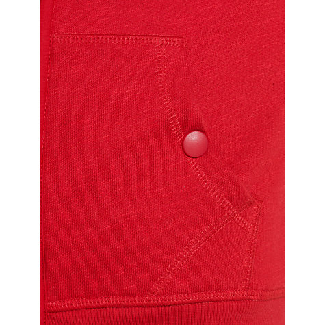 Buy John Lewis Boy Upstate Lined Hoodie, Red Online at johnlewis.com