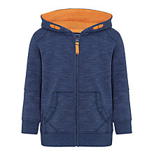 Buy John Lewis Boy Upstate Lined Hoodie, Blue Online at johnlewis.com