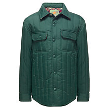 Buy John Lewis Boy Quilted Shirt Jacket Online at johnlewis.com