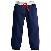 Buy Little Joule Jogger Trousers, Navy Online at johnlewis.com