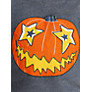 Buy John Lewis Boy Pumpkin Hoodie, Denim Marl Online at johnlewis.com