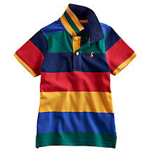 Buy Little Joule Tom Stripe Polo Shirt, Multi Online at johnlewis.com