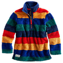 Buy Little Joule Woozle Striped Fleece Online at johnlewis.com