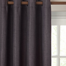 Buy John Lewis Textured Lined Eyelet Curtains Online at johnlewis.com