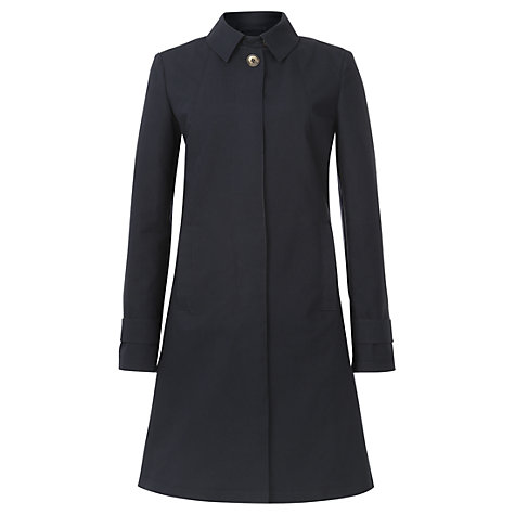 Buy Jigsaw London Trench Coat, Navy Online at johnlewis.com