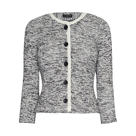 Buy James Lakeland Textured Jacket, Black Online at johnlewis.com