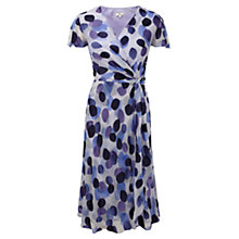 Buy CC Petite Leaf Shadow Dress, Wisteria Online at johnlewis.com