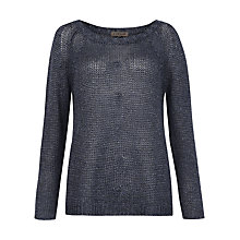 Buy Jigsaw Washed Linen Jumper Online at johnlewis.com