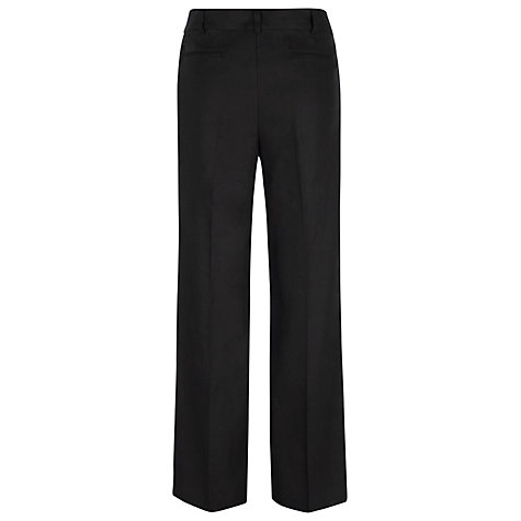 Buy Havren Linen Trousers, Black Online at johnlewis.com