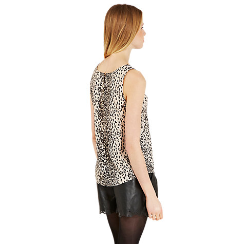 Buy Oasis Animal Print Vest Top, Multi Online at johnlewis.com