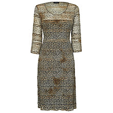 Buy James Lakeland Long Sleeve Leopard Print Dress Online at johnlewis.com