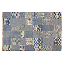Buy Patchwork Blue Rug Online at johnlewis.com