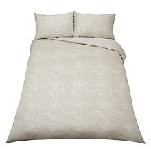 Buy John Lewis Paisley Bedding, Natural Online at johnlewis.com