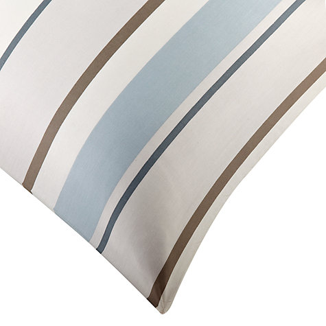 Buy John Lewis Finlay Stripe Duvet Cover and Pillowcase Set, Blue Online at johnlewis.com