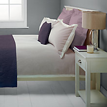 Buy John Lewis Baby Seersucker Bedding, Amethyst Online at johnlewis.com