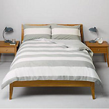 Buy John Lewis Rugby Stripe Duvet Cover Set Online at johnlewis.com