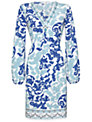 Damsel in a dress Lois Printed Tunic, Blue Print