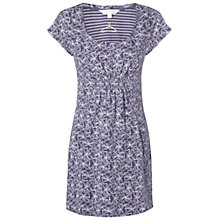 Buy White Stuff Patience Kaftan Dress, Light Twilight Blue Online at johnlewis.com